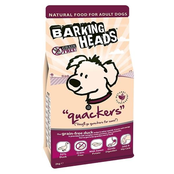 Barking Heads Grain Free Quackers Dry Dog Food Kg